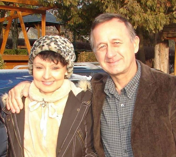 Szíj Melinda lassan egy éve él Budapesten. Nemcsak szakmailag érzi magát a helyén, a magánélete is sikeres új párjával, Attilával. A fotó tavaly szilveszterkor készült.