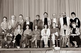 Szoszédok szereplői - fotó