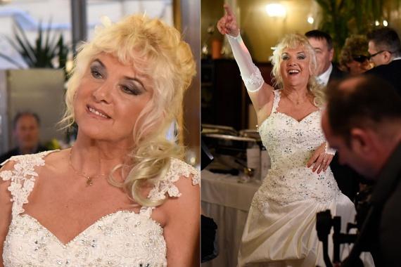 Csütörtökön végre láthatta a nagyközönség Karda Bea esküvői fotóit. Az énekesnő egy gyöngyökkel díszített, elefántcsontszínű ruhát viselt. A képeket ide kattintva nézheted meg.