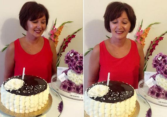 Tolvai Reni édesanyja, Georgetta a minap ünnepelte 51. születésnapját. Lánya egy különleges, maci alakú virágcsokorral és egy káprázatos tortával köszöntötte az ünnepeltet.