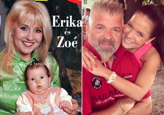 Édes barna kislány volt Zoé. Mára gyönyörű nő lett belőle, a házaspár egy szem lánya betöltötte a 18. életévét.