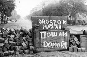 '56-os forradalom helyszínei