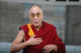 Dalai Láma Glastonbury
