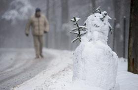 Januári havazás