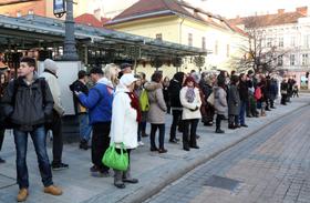 Közlekedési sztrájk Miskolc
