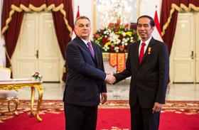 Orbán Viktor Indonéziában