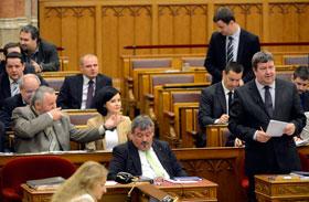 Parlamenti viselkedés