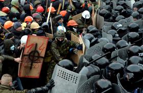 Ukrajna tüntetés 2014