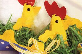3 kedves dekoráció a húsvéti asztalra - Fillérekből elkészítheted!