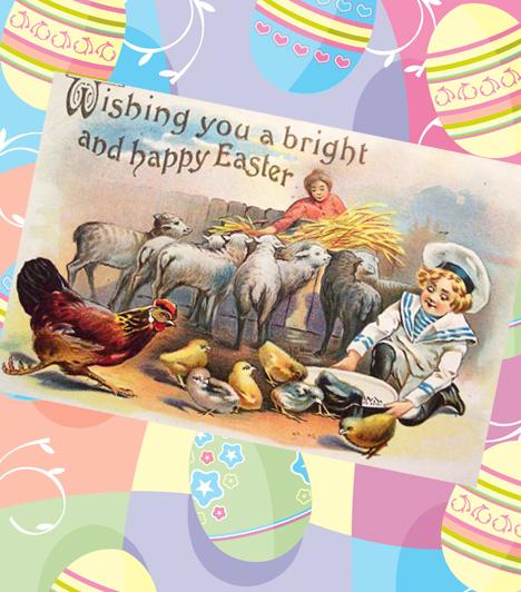 A 10 legszebb húsvéti képeslap a múltból