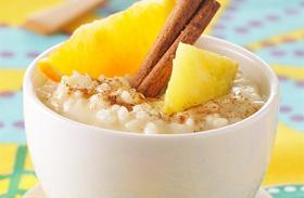 Húsvéti recept: rizspuding gyümölcsökkel és fahéjjal