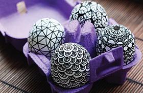 Egyszerű húsvéti tojásfestés ötletek