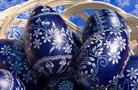 Gyönyörű húsvéti tojás