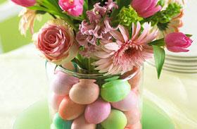Befőttesüveg húsvéti dekoráció