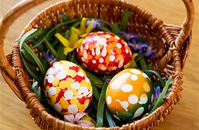 Húsvéti dekoráció: saját kezűleg