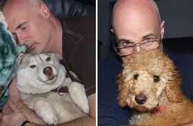 45 kutyát fogadott örökbe