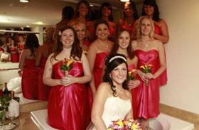 Ciki esküvői fotók