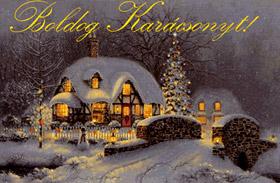 Karácsonyi képeslapküldés