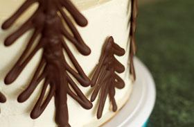 Csokifenyőfa-készítés