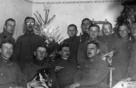 Első világháború - karácsony