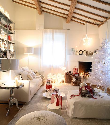 10 karácsonyi dekortipp, hófehérben