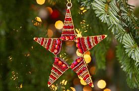 Stílusos karácsonyfa fillérekből