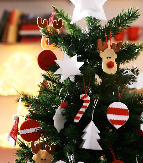 10 meseszép feldíszített karácsonyfa