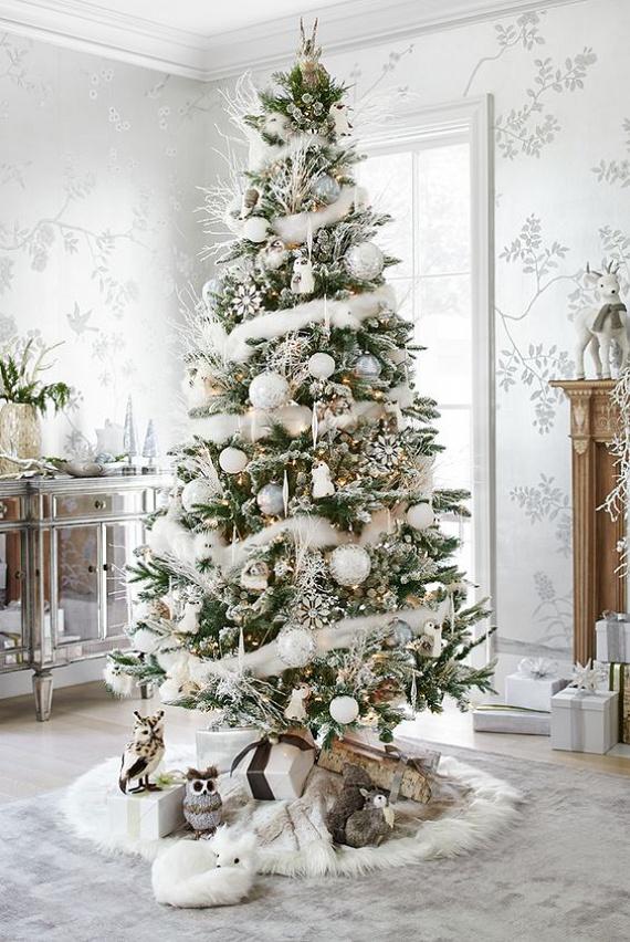 Fehér díszek - Aki hófehér csipkébe öltözteti a fáját, mesevilágban szeretne lenni. Ha olyan a fád, mint egy havas-deres álomvilág, horgolt csipkecsillagokkal és hóval fújt, légies üvegdíszekkel, akkor fontos neked a szépség. Arra törekszel, hogy gyönyörű élmény legyen minden ünnep. Az életedben gyűjtögeted az apró csodákat, a legkisebb szépséget is képes vagy észrevenni. A szeretteid számára azt közvetíted, hogy minden pillanatban érdemes élni és élvezni az életet. Romantikus alkat vagy, és hiszel a jóságban. Az asztalodon ünnepi torta, cupcake vagy muffin biztosan akad.
