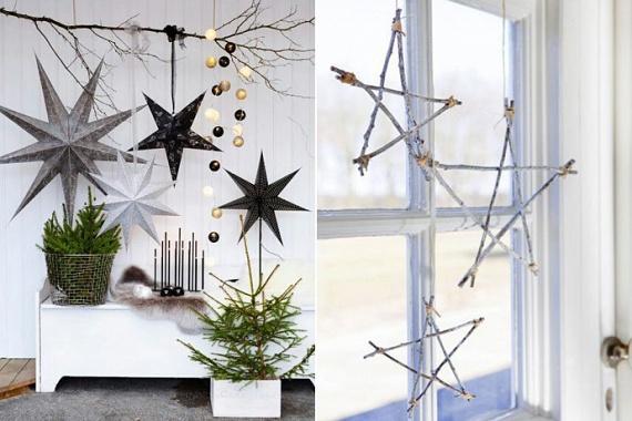A karácsonyi csillagok készítése szinte elengedhetetlen része az ünnepi készülődésnek: akár papírból, akár jó állapotú gallyakból készítenéd, a végeredmény minden bizonnyal szemet gyönyörködtető lesz! A 3D-s papírcsillagok sablonját kinyomtatod, kivágod a csillag öt ágát, ragasztóval összeragasztod őket, végül pedig csillámporral vagy díszes anyaggal bevonod. A gallyakból készült csillagokhoz csupán egy kis madzagra lesz szükséged, amivel egymáshoz rögzíted a különálló részeket, és már fel is akaszthatod!