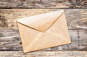 Télapó ünnepi posta