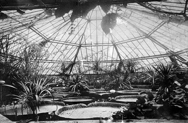 A Viktória-ház 1910-ben - fotó: Fortepan