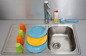 4 házi csodaszer a higiénikusan tiszta mosogatóért