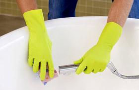 Kád takarítása