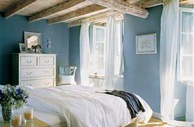 Kék hálószobák