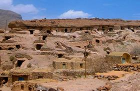 Föld alatti lakások - Meymand