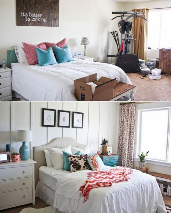 A hálóban semmi olyan tárgy és bútor ne álldogáljon, ami nem a pihenésedet szolgálja. Így egy kondigép sem való az ágy mellé. Ehelyett törekedj a kényelemre, az edzésnek pedig találj egy másik szobát.