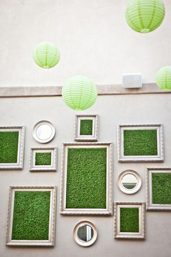 Ha szereted kiélni a kreativitásodat, mesés képeket varázsolhatsz a faladra a műfű segítségével. Nem mindennapi az ilyen dekoráció a lakásban!