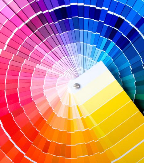 Így használd a színeket a lakásban!