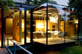 Üvegfalú házak
