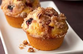 Almás-bogyós bögrés muffin