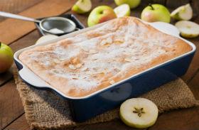 Almás-mandulás bögrés süti