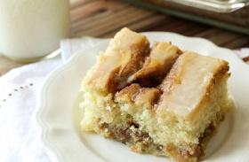 Amerikai fahéjas süti