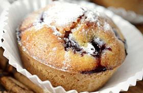 Cseresznyés muffin recept
