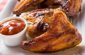 Csípős csirkeszárnyak