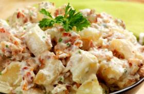 Csirkés krumplisaláta