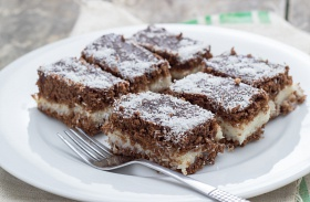 Csokis-grízes süti