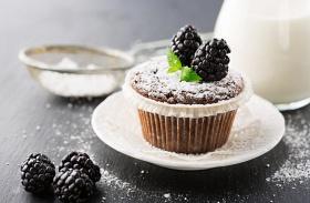Csokis-gyümölcsös muffin