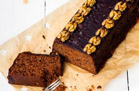 Csokis-diós süti