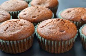 Csokis-gesztenyés muffin