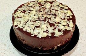Csokis-meggyes torta